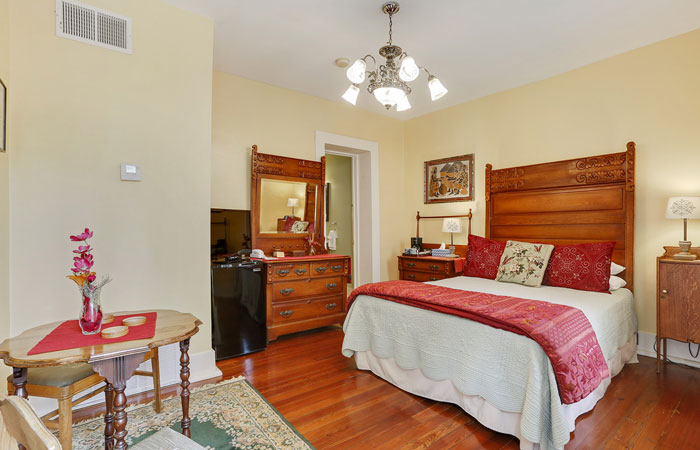 Room 2 at Parisian Courtyard Inn in New Orleans, Louisiana