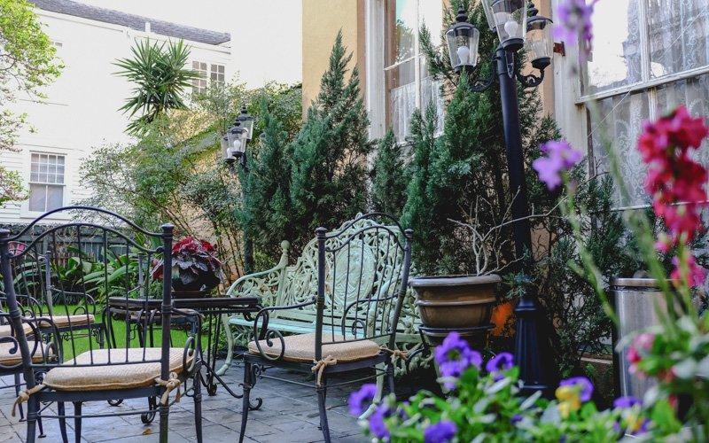 The Parisian Courtyard Inn | 1726 Prytania Street, New Orleans LA 70130 |  (504) 581 4540 | Info@theparisiancourtyardinn.com