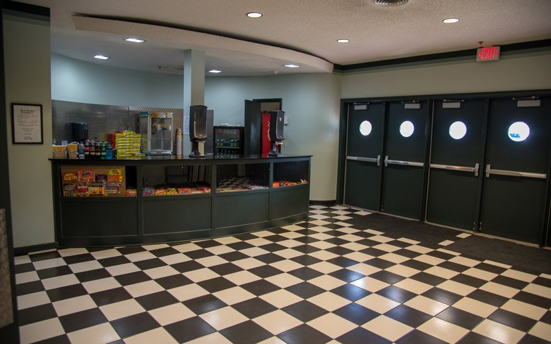 Snack booth at a theatre