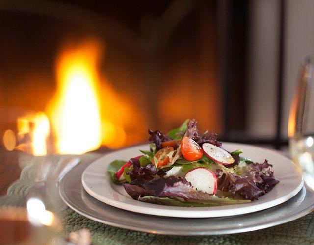 Dinner at Garden Gables Inn in Lenox, MA