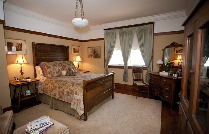 Guest Room at Westphal Mansion Inn in Hartford, WI