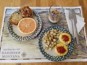 Free Hot Local, Organic, Sustainable Breakfast Buffet for Guests