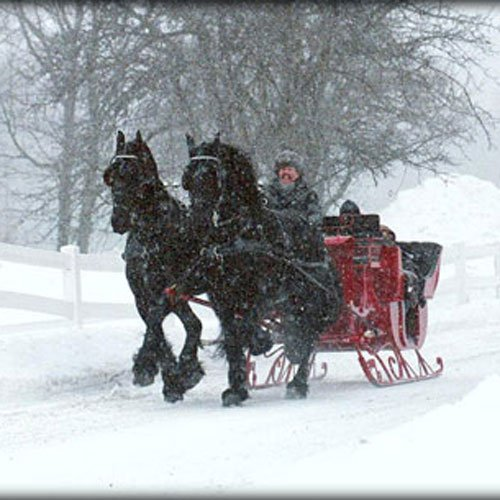 Sleigh Rides at the Wilmington Inn