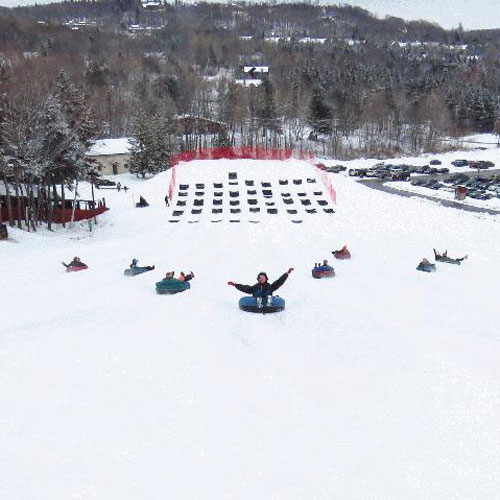 Tubing on Mount Snow at the Wilmington Inn