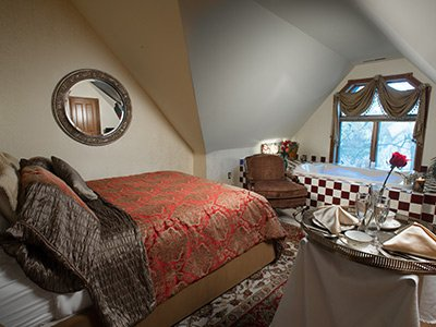 Guest Room at Historic Webster House in Bay City, MI