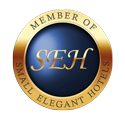 We are a proud member of small elegant hotels
