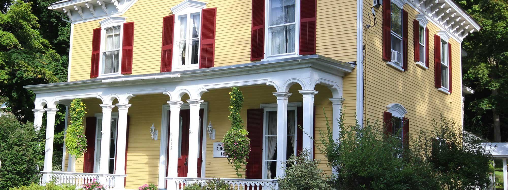1868 Crosby House in Brattleboro, Vermont