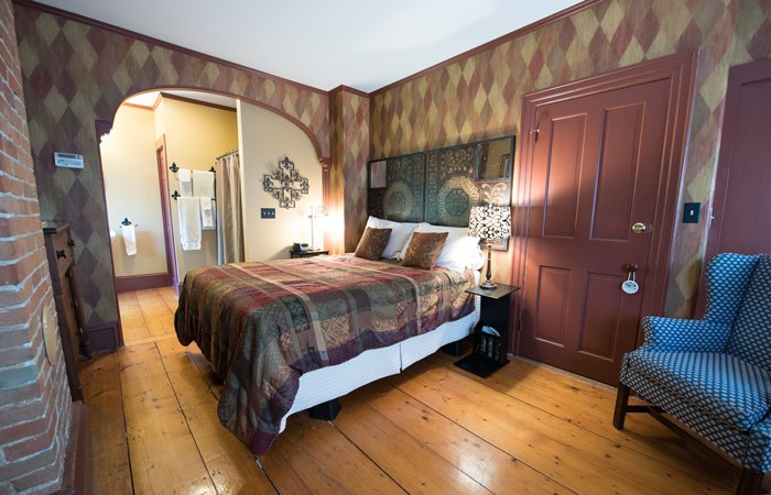 Rooms at Admiral Peary Inn Bed and Breakfast in Fryeburg, Maine