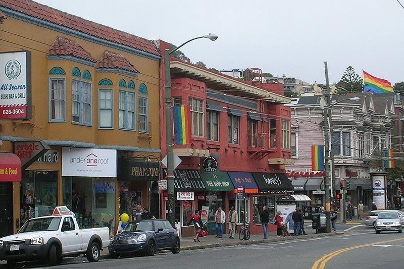 Area Attractions near Inn on Castro in San Francisco, CA