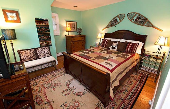 Guest Room at Clay Corner Inn in Blacksburg, VA