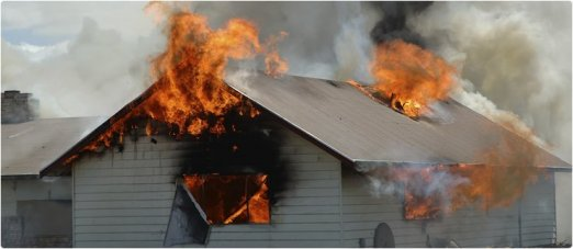 Insurance Covers Burning House