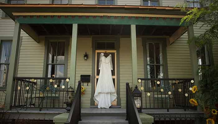 Weddings at Zybell House in Monticello, IL