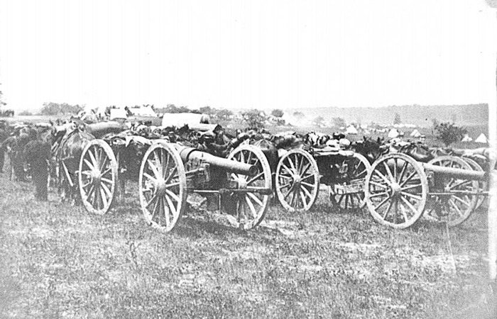 California Historical Artillery Society history cannons
