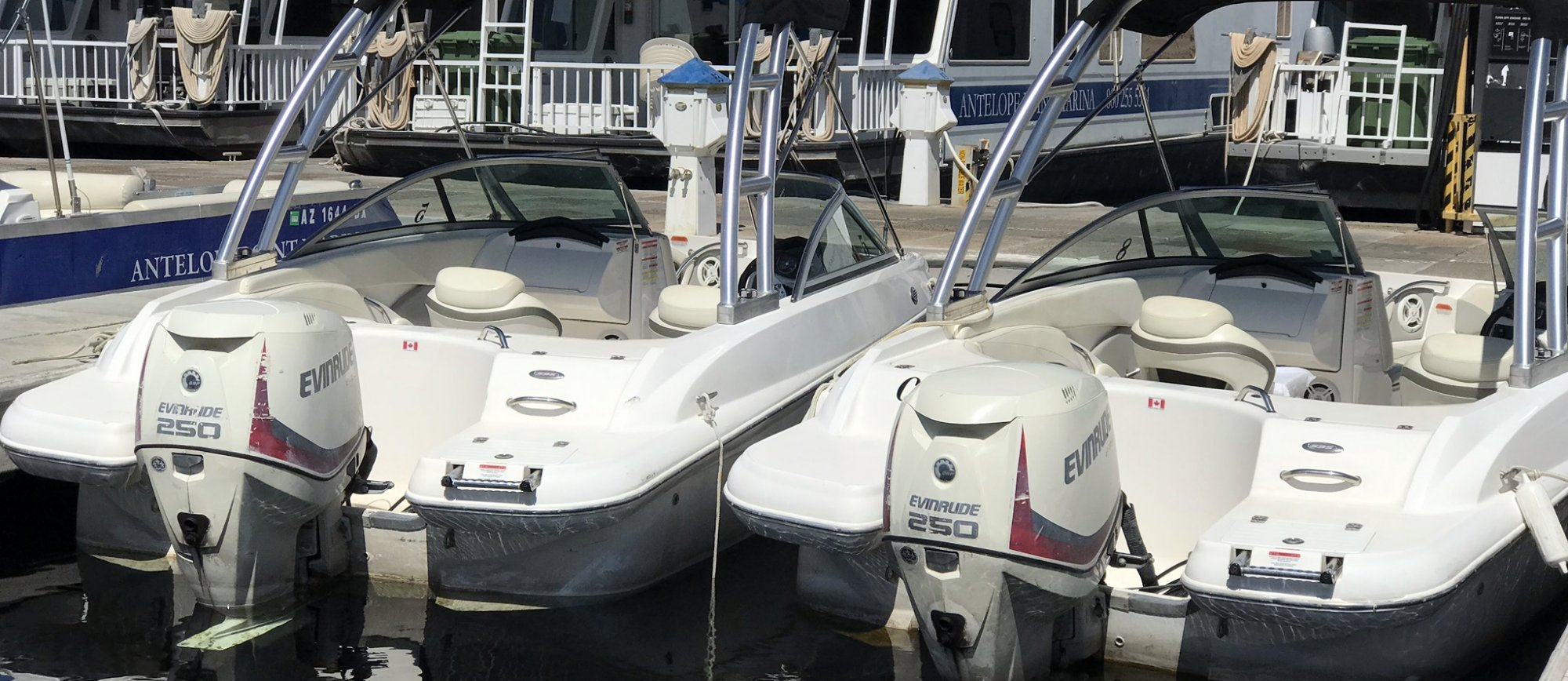 21 ft Powerboat Rental at Antelope Point Marina