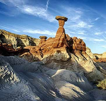 the Toadstool Hoodoo at Rimrocks