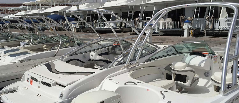 21 ft Powerboat Rental at Antelope Point Marina