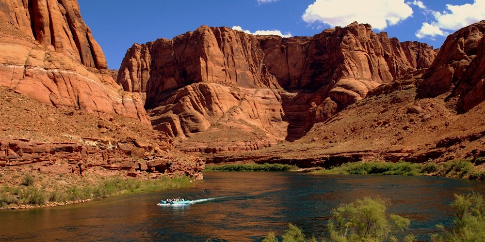 Full Day Colorado River Smooth Water Float Trip departing from Page, Arizona