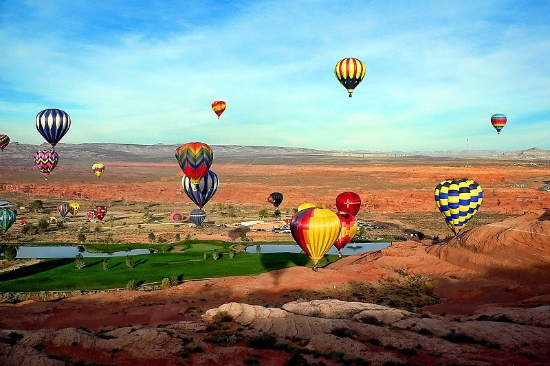 2018 Page Lake Powell Balloon Regatta