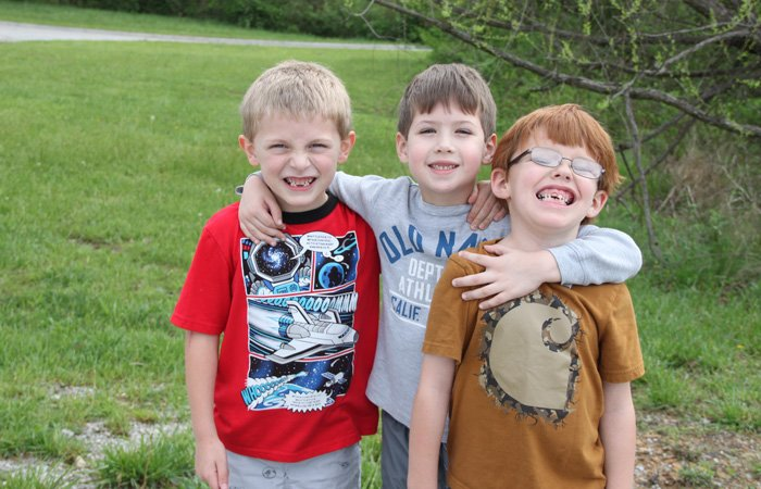 Three Boy Students of Christian Academy of the Cumberlands in Crossville, Tennessee