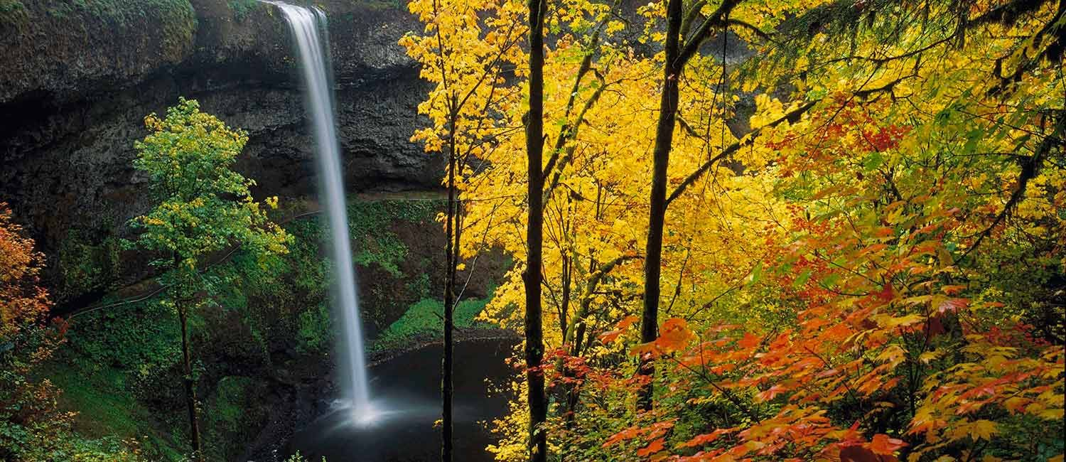 Souith Silver Falls in autumn colors