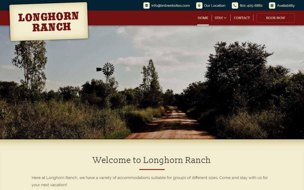 The Longhorn Ranch Design
