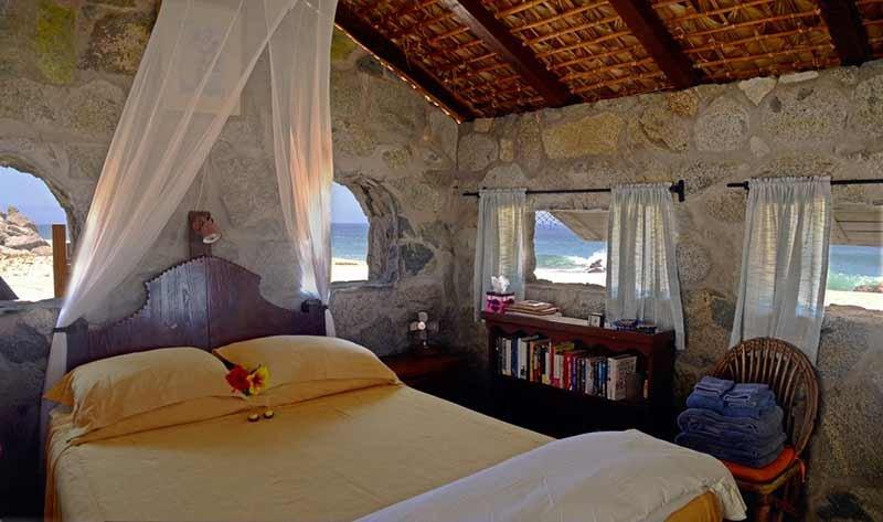 Stone beach cottage baja california vacation rentals for Planimetrie della casa del cottage