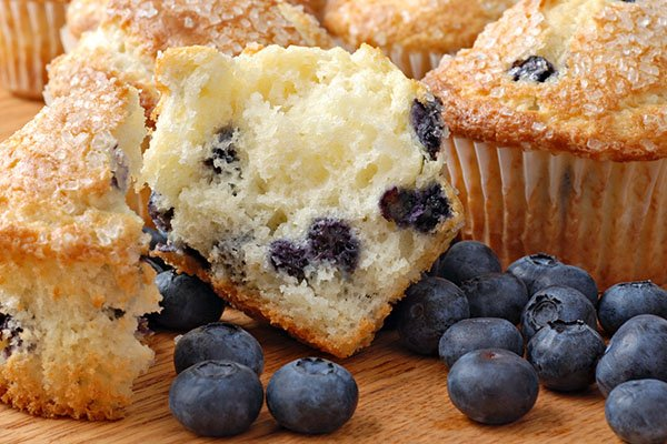 Blueberry Bomb Mammoth Muffins