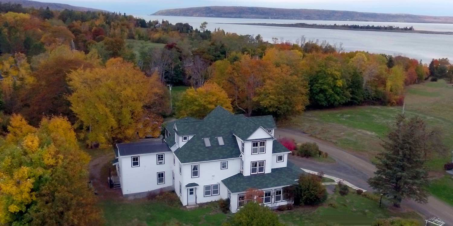 Harbourview Inn from the sky