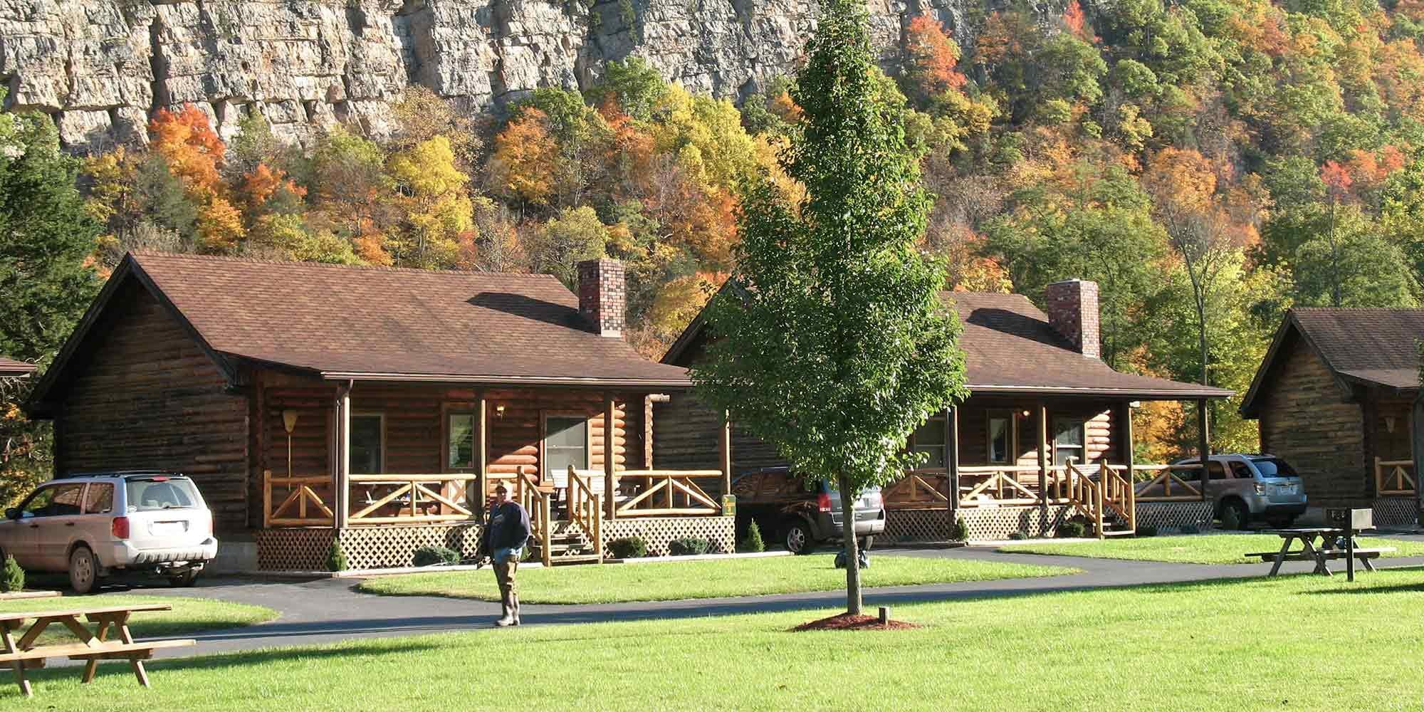 Family Log Cabins Smoke Hole Wv Cabin Rentals Smoke