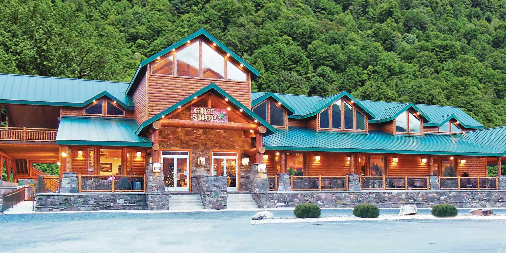Smoke Hole Caverns Cabin Rentals and Lodging in Seneca Rocks