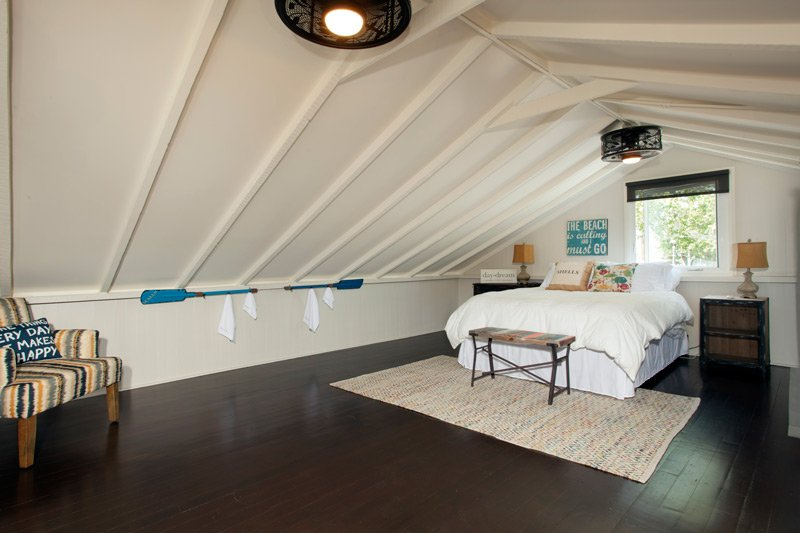 The Blue Cottage Bed at Laguna Beach Cottages
