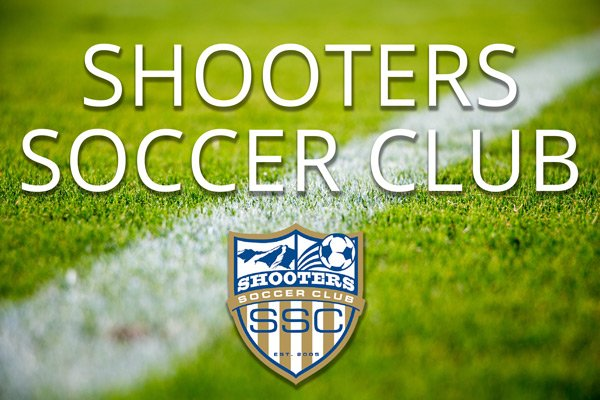 Shooters Soccer Club with shooters insignia