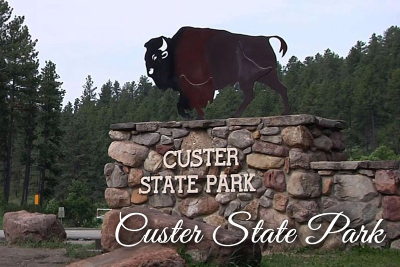 Custer State Park entrance