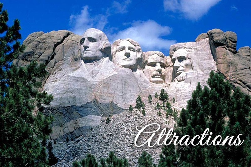 Summer Creek Inn attractions Mount Rushmore