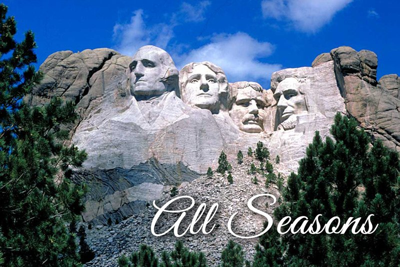 Summer Creek Inn All Seasons attractions Mount Rushmore
