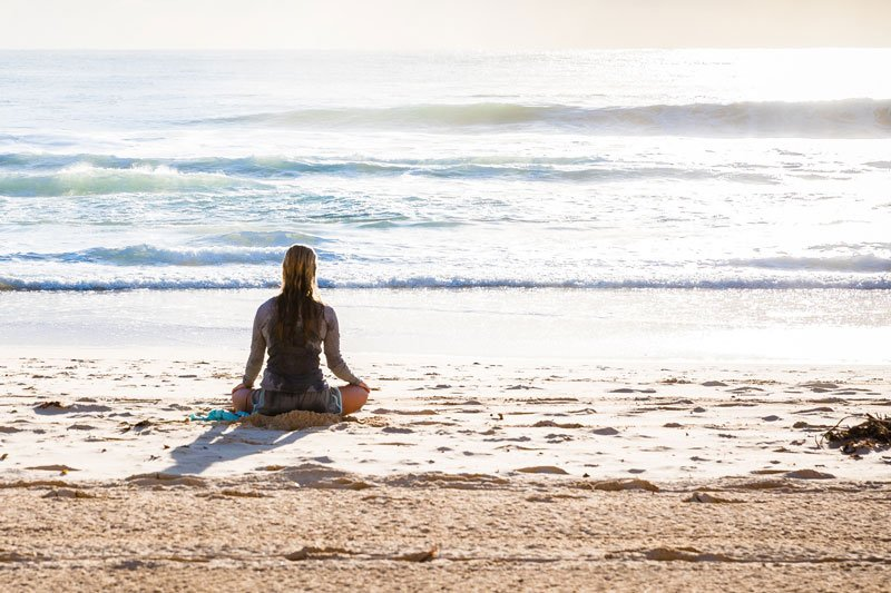 Carmel Beach Meditation