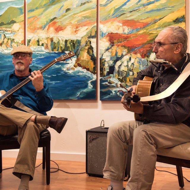 art + music in Carmel