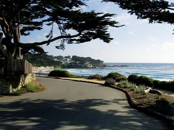 Carmel shoreline