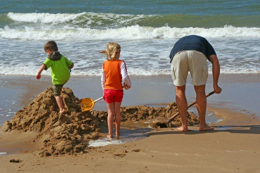 Family at Carmel Beach