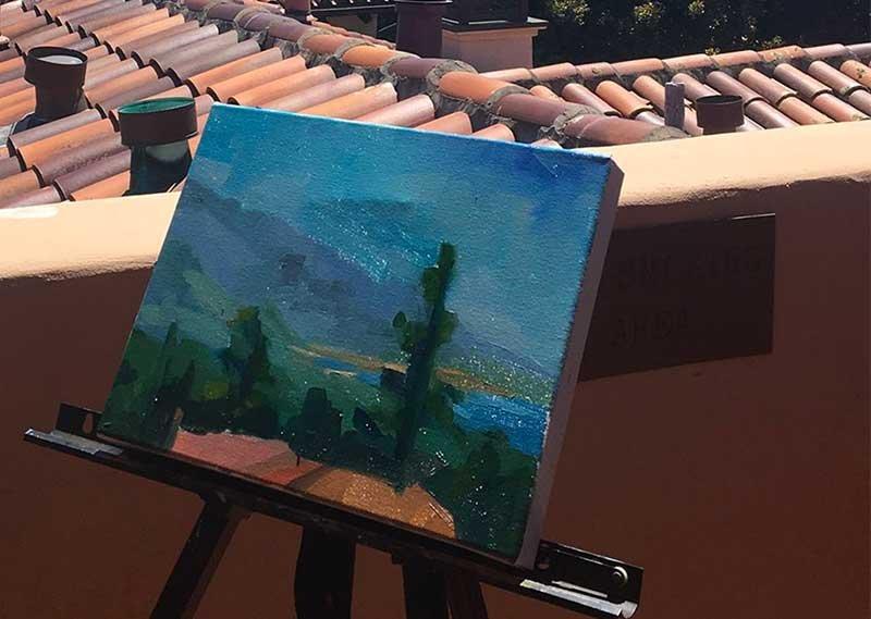 Erin Gafill Carmel painter