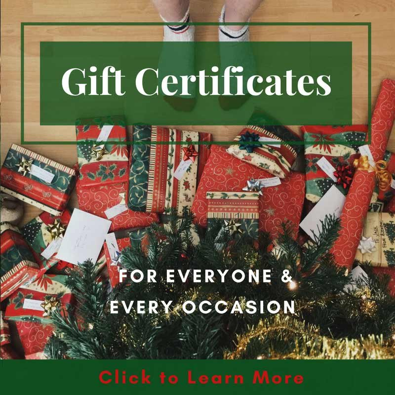 Gift Certificates Make Perfect Gifts