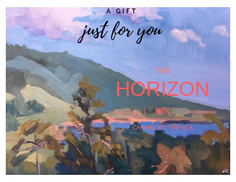 Artistic rendering of view from Horizon Inn