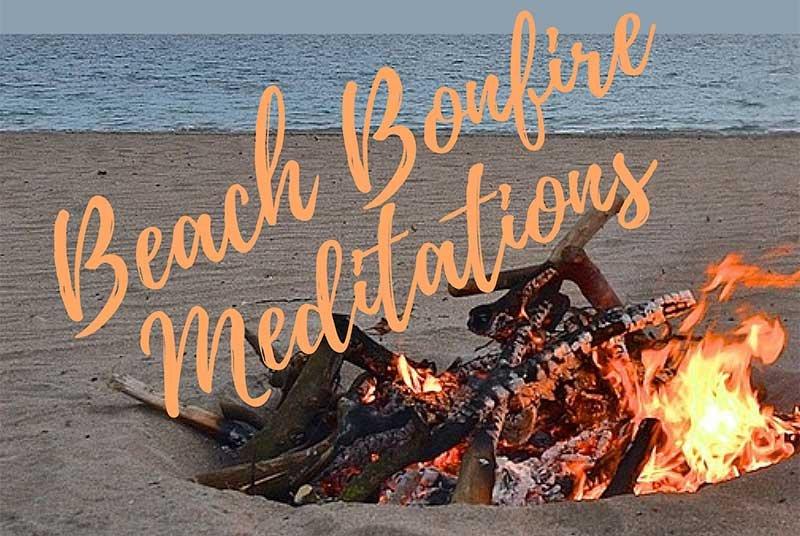 Carmel Beach Meditation