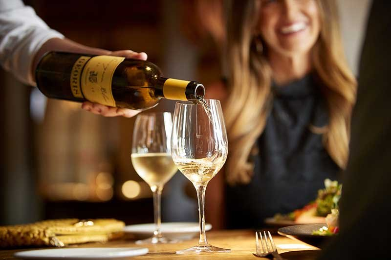 Wine Tasting in Downtown Carmel