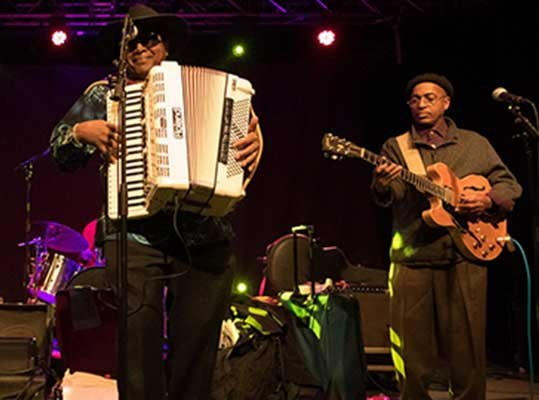 Zydeco Band in Carmel