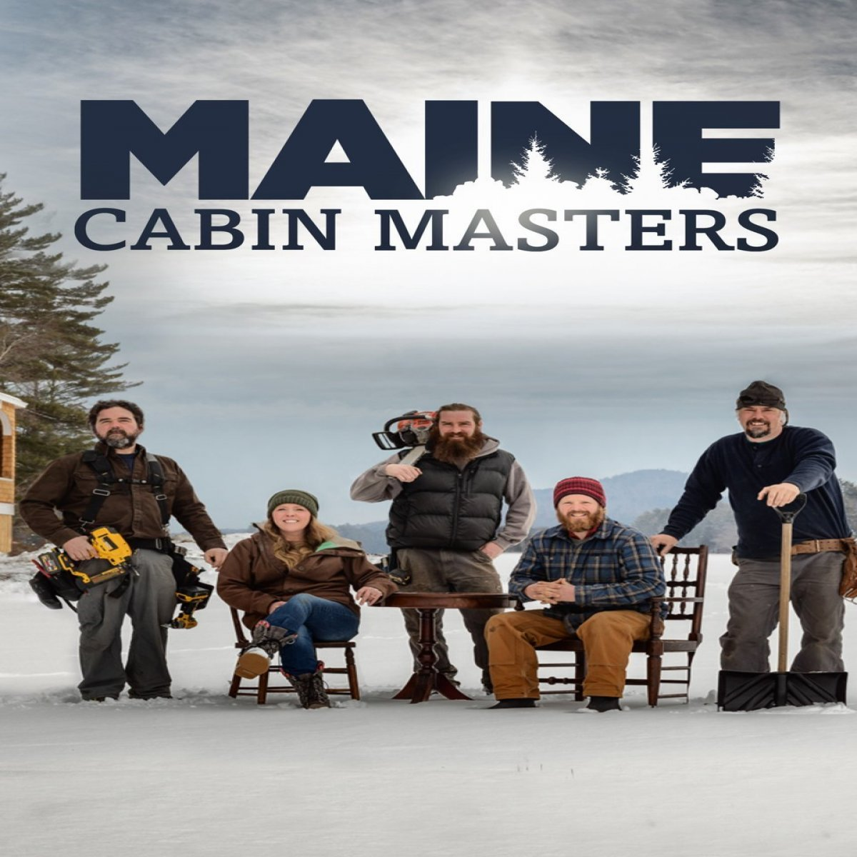pics of maine cabin masters