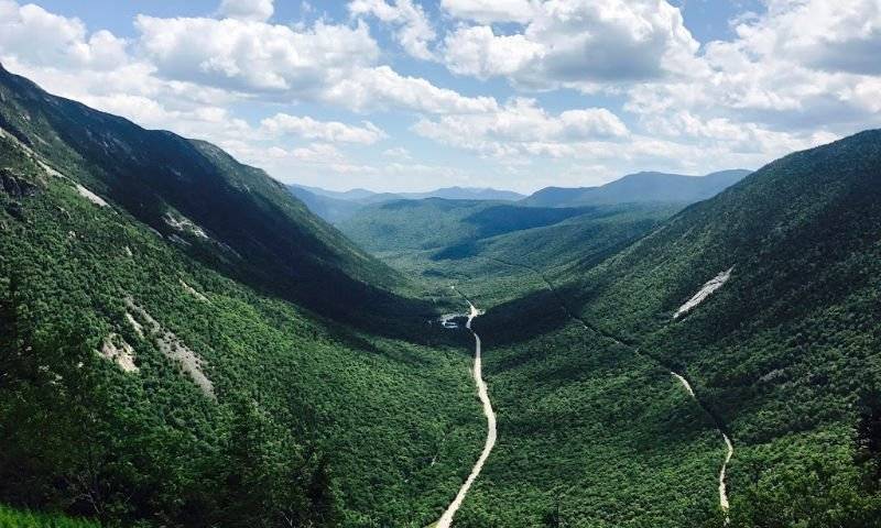 view of crawford notch