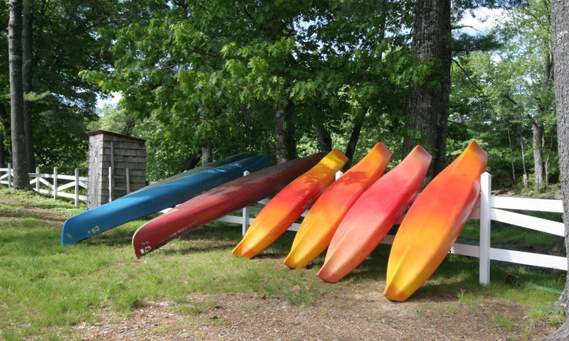 Old Saco Inn Activities kayaks