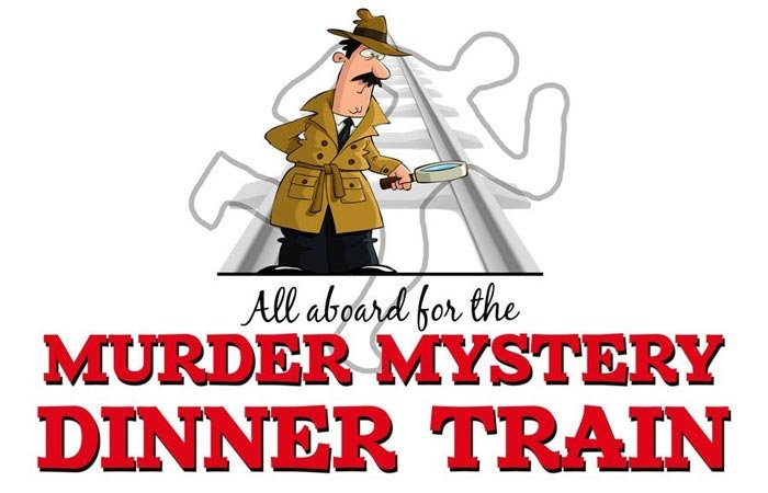 All aboard for the Murder Mystery Dinner Train