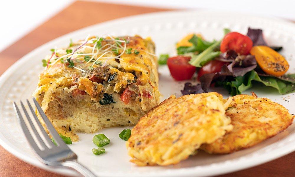 egg breakfast dish